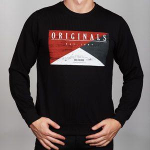 Vyriškas džemperis apvaliu kaklu
