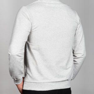 Pilkas vyriškas džemperis