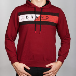 bordo spalvos vyriškas džemperis
