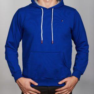 Mėlynas vyriškas džemperis