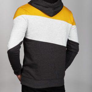 Raštuotas vyriškas džemperis