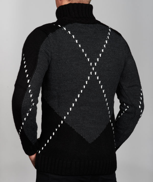 Vyriškas megztinis Fox galas, vyriški megztiniai, vyriški drabužiai