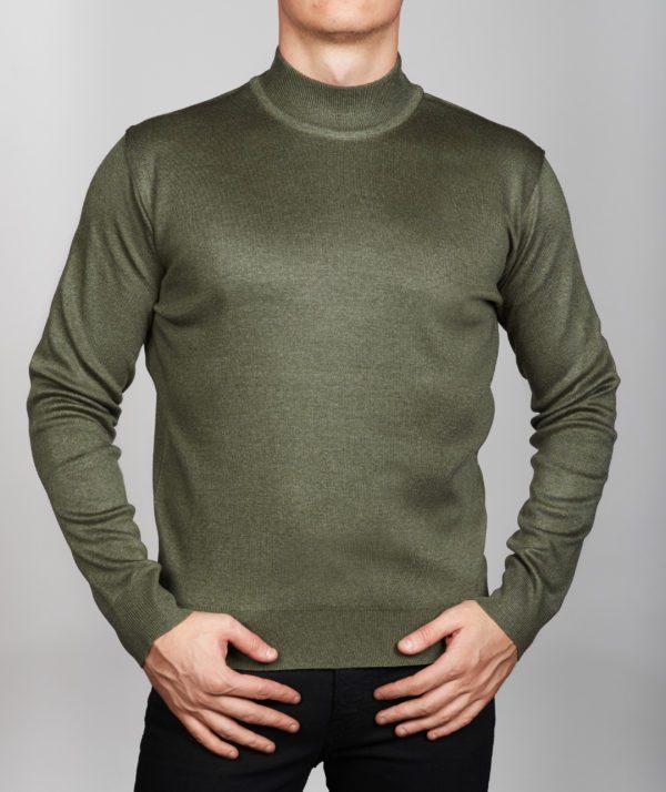 Vyriškas megztinis Green, vyriški megztiniai, vyriški drabužiai