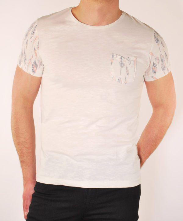 Dramblio kaulo spalvos vyriški marškinėliai