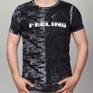 Juodi vyriški marškinėliai su užrašu Connor, marškinėliai vyrams, vyriški drabužiai
