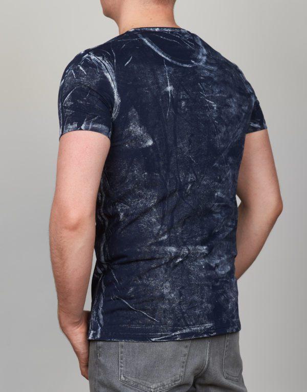 Mėlyni vyriški marškinėliai Feeling